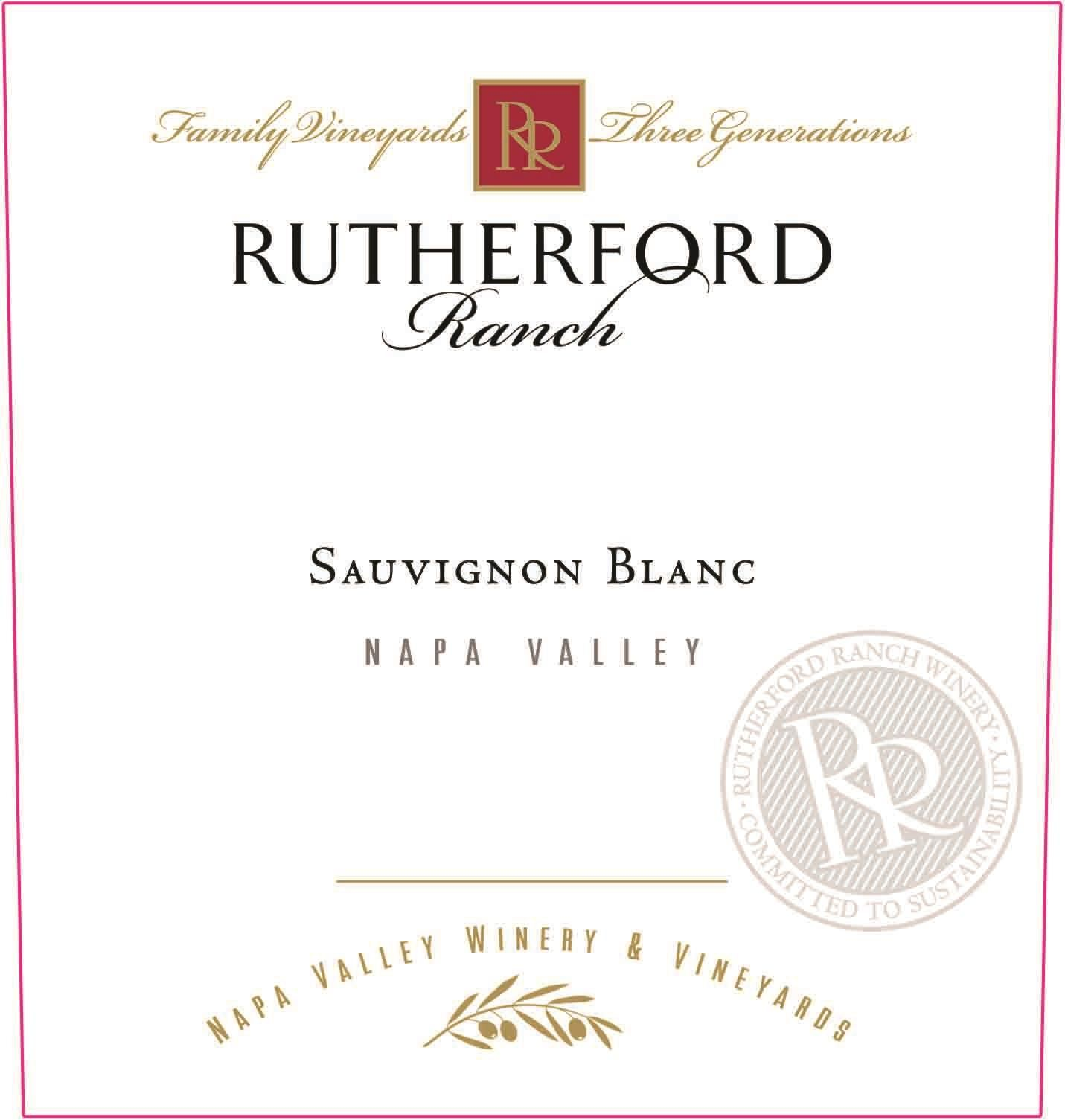 Rutherford Ranch Sauvignon Blanc 2019  Front Label