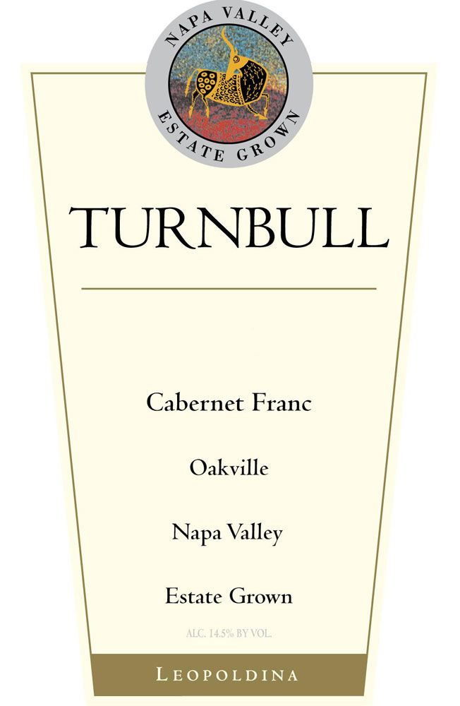 Turnbull Leopoldina Vineyard Cabernet Franc 2010  Front Label