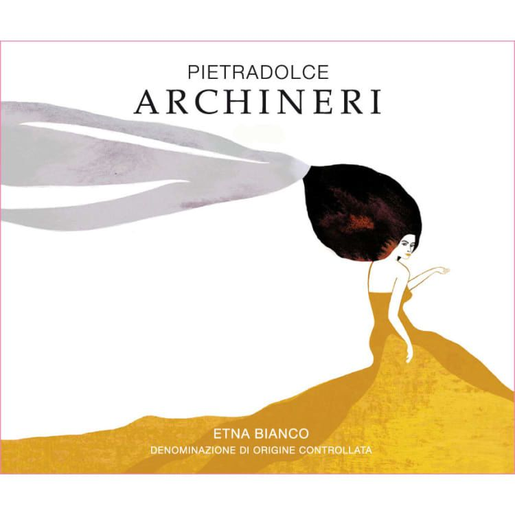 Pietradolce Archineri Etna Bianco 2017  Front Label