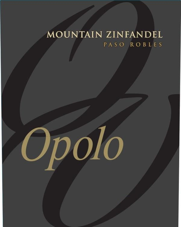 Opolo Mountain Zinfandel 2018  Front Label