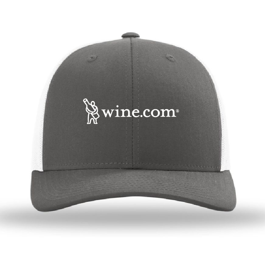 wine.com Richardson Low Pro Trucker Cap in Grey/White  Gift Product Image