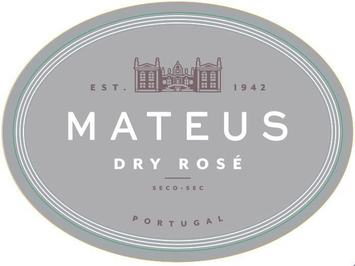 Mateus Dry Rose 2019  Front Label