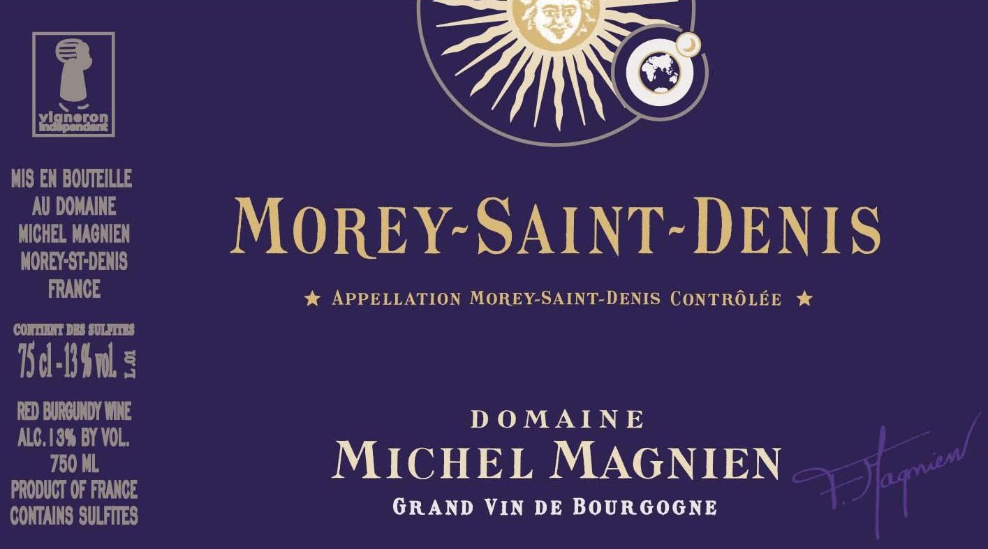 Michel Magnien Morey-Saint-Denis 2017  Front Label