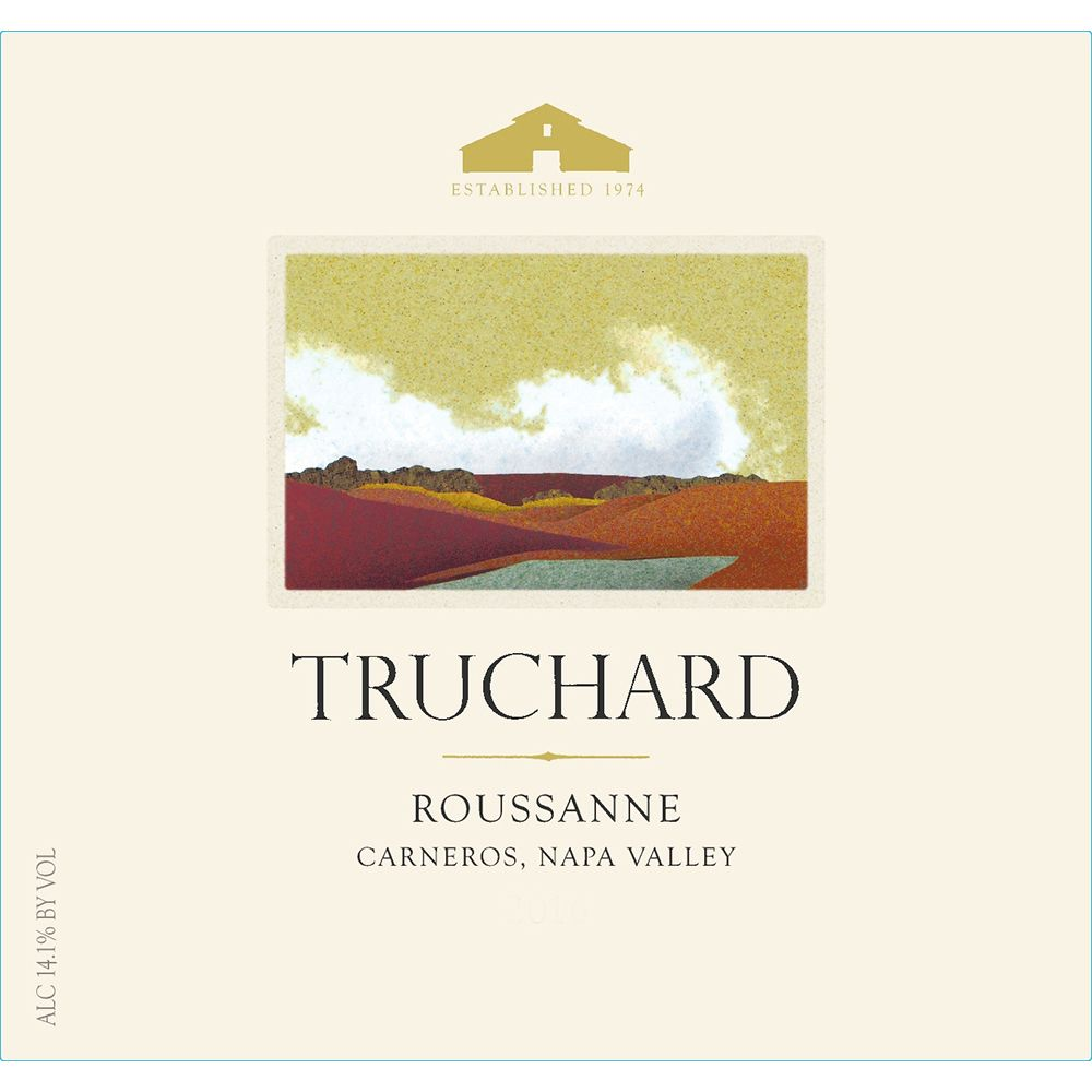 Truchard Estate Roussanne 2018  Front Label