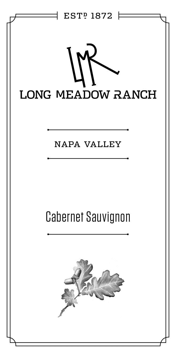 Long Meadow Ranch Cabernet Sauvignon 2015  Front Label