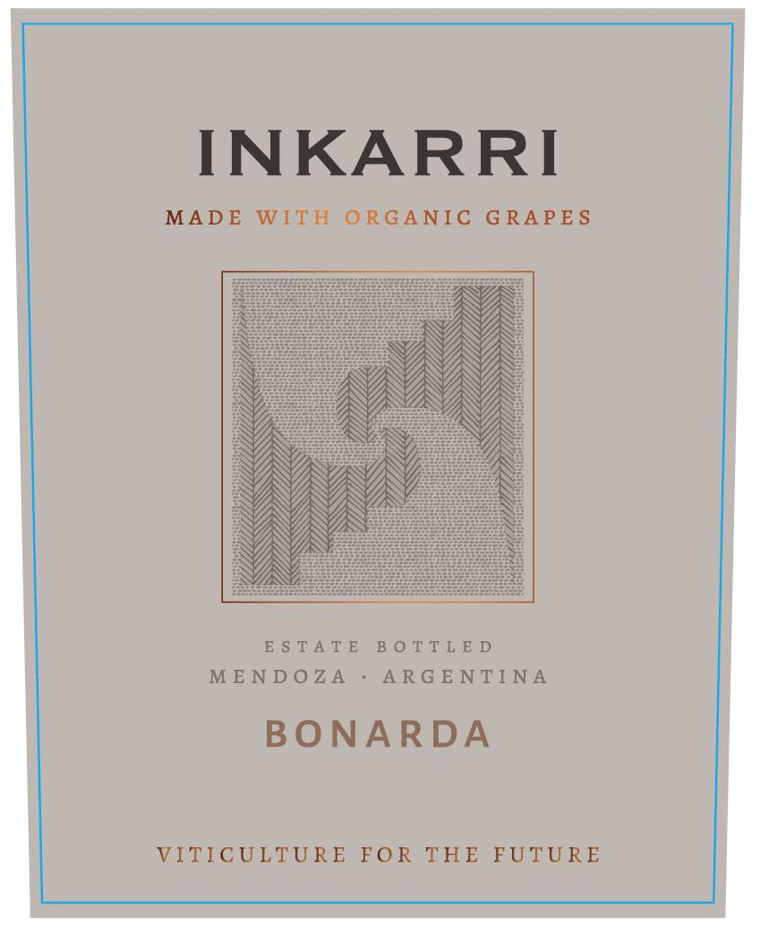 Inkarri by Proviva Estate Bonarda 2017 Front Label