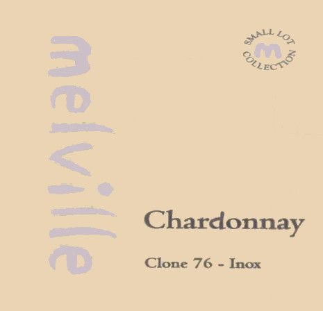 Melville Clone 76 Inox Chardonnay 2004  Front Label