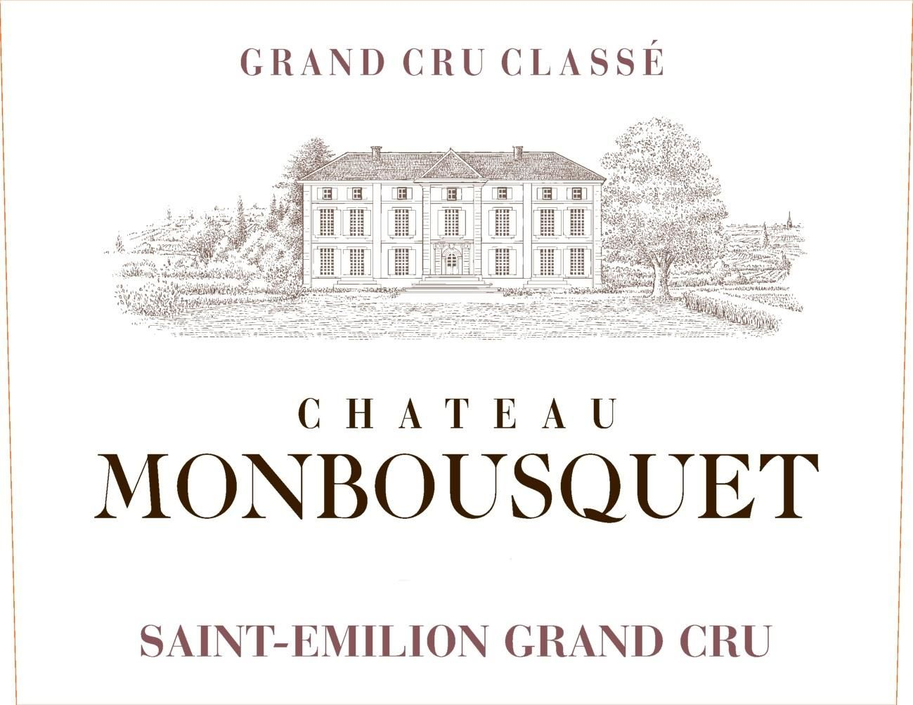 Chateau Monbousquet (Futures Pre-Sale) 2018  Front Label
