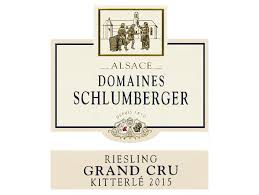 Domaines Schlumberger Kitterle Grand Cru Riesling 2015  Front Label
