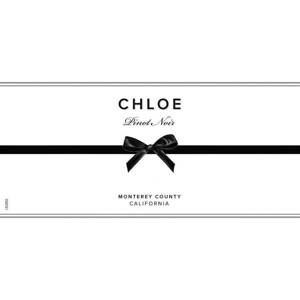 Chloe Monterey County Pinot Noir 2017  Front Label