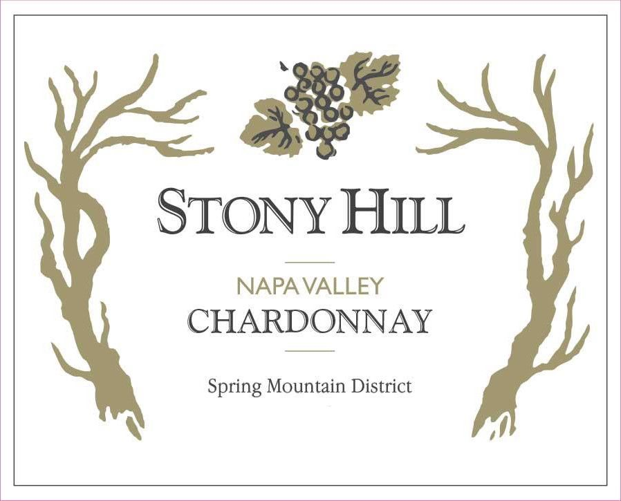 Stony Hill Chardonnay 2014  Front Label