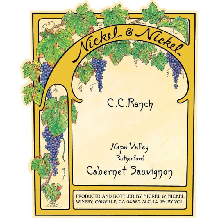 Nickel & Nickel C.C. Ranch Cabernet Sauvignon (3 Liter) 2015 Front Label