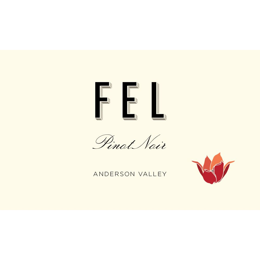 FEL Anderson Valley Pinot Noir 2017  Front Label