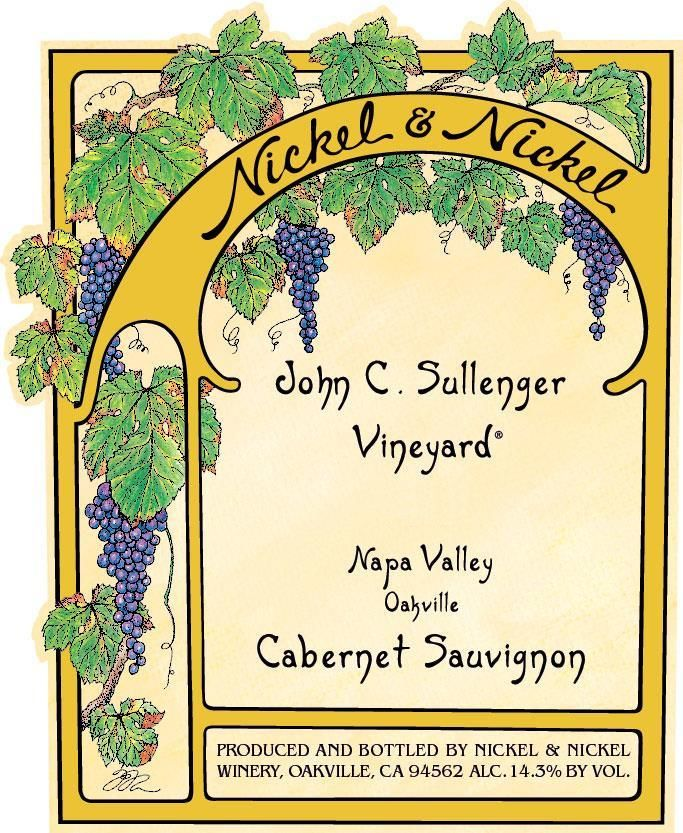 Nickel & Nickel Sullenger Vineyard Cabernet Sauvignon 2018  Front Label