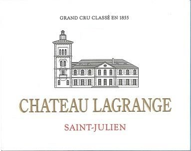 Chateau Lagrange (Futures Pre-Sale) 2018  Front Label