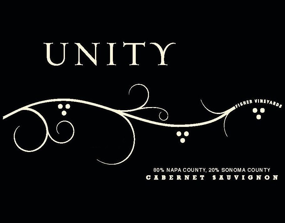Fisher Vineyards Unity Cabernet Sauvignon 2017 Front Label
