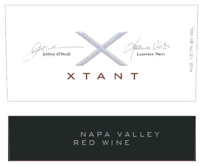 Xtant Xtant Red 2010  Front Label