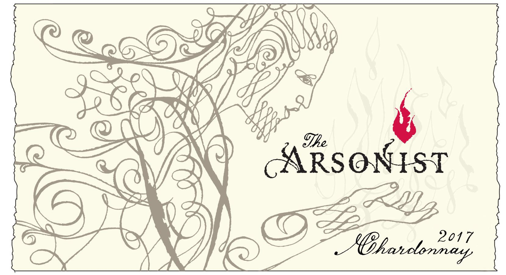 Matchbook The Arsonist Chardonnay 2017  Front Label
