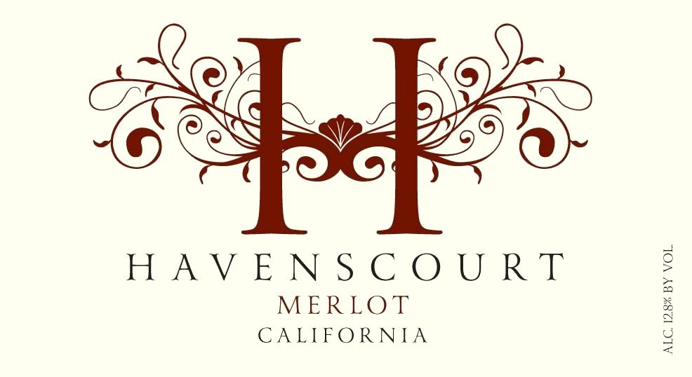 Havenscourt Merlot  Front Label