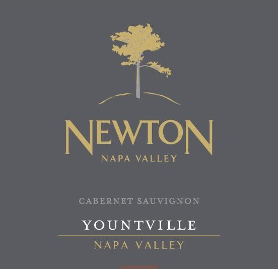 Newton Single Vineyard Yountville Cabernet Sauvignon 2015 Front Label