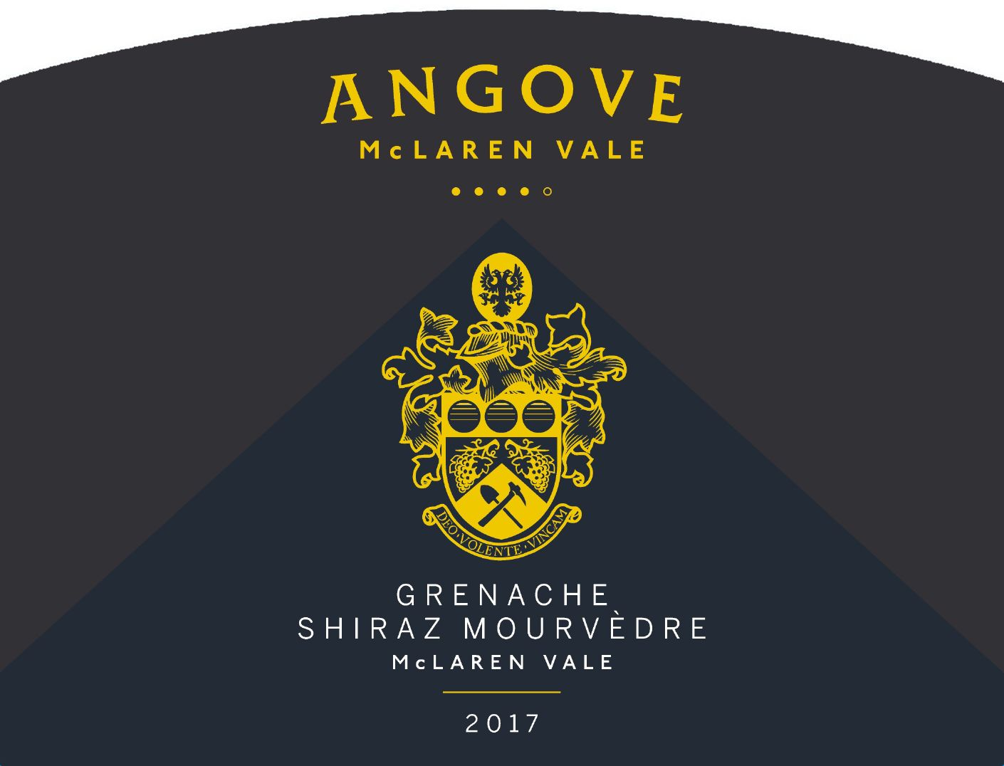 Angove Family Winemakers Family Crest Grenache Shiraz Mourvedre 2017  Front Label