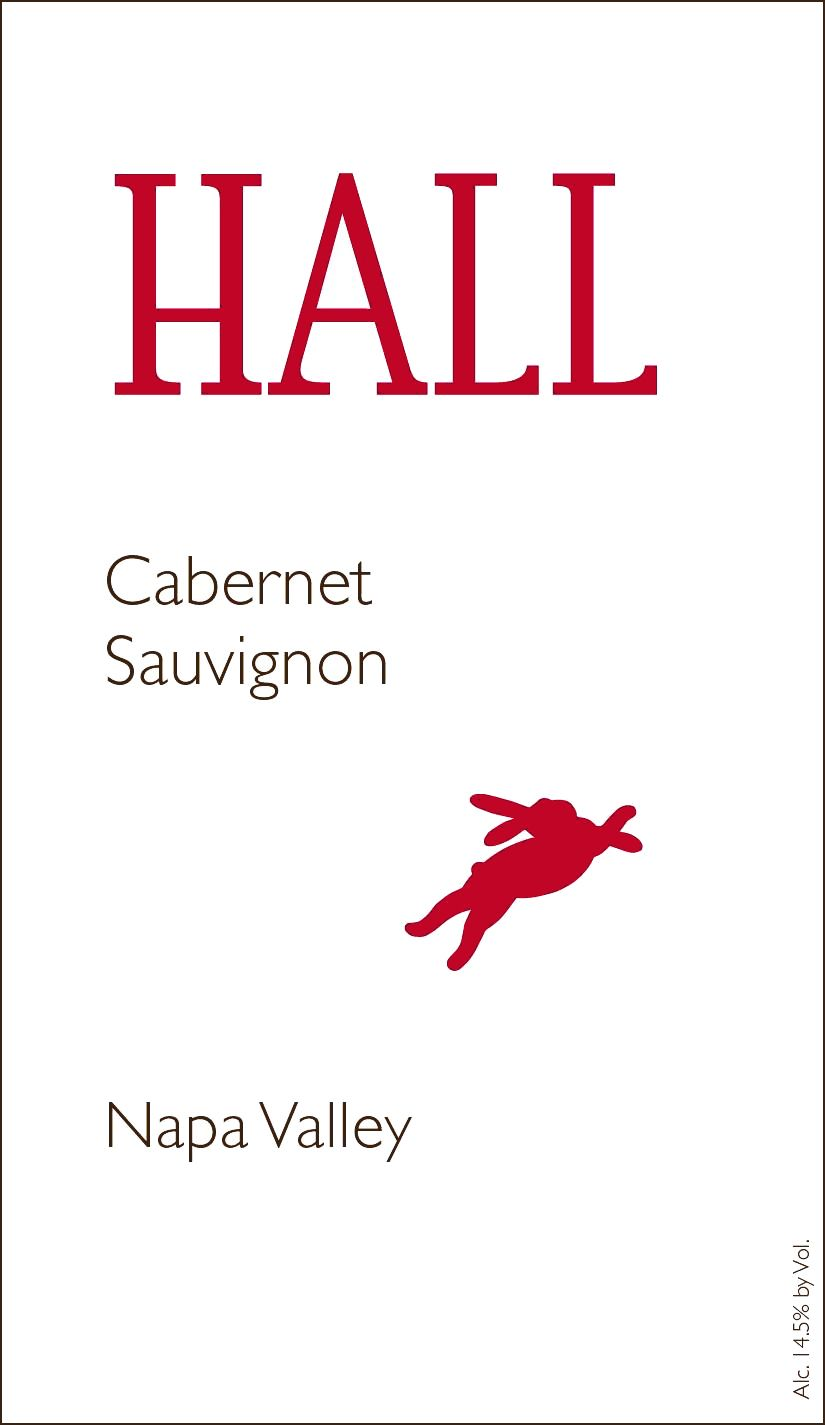 Hall Napa Valley Cabernet Sauvignon 2017  Front Label
