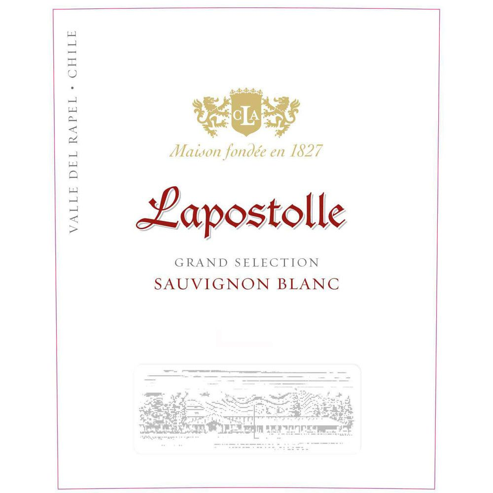 Lapostolle Grand Selection Sauvignon Blanc 2019  Front Label