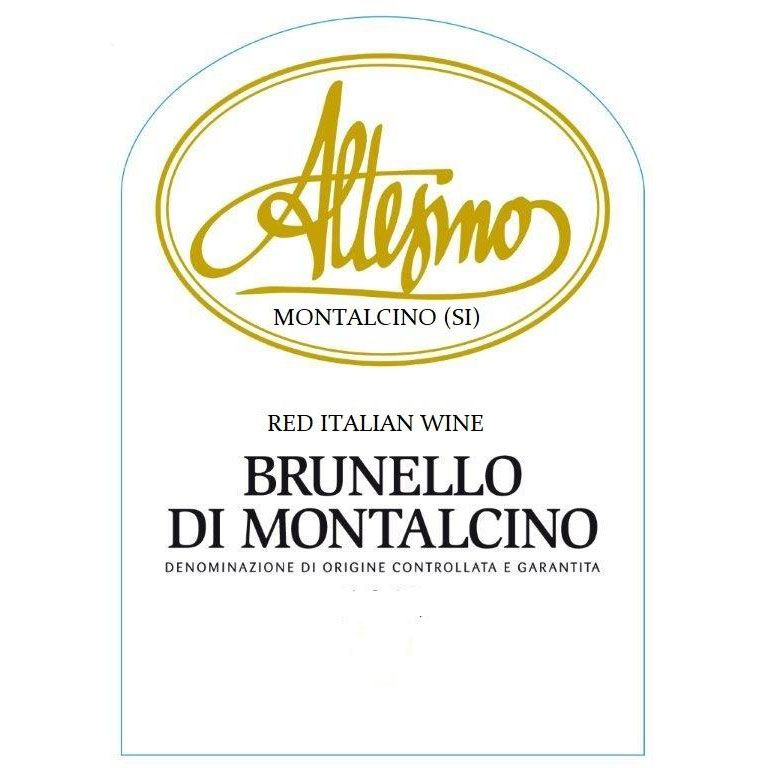 Altesino Brunello di Montalcino (375ML half-bottle) 2014  Front Label