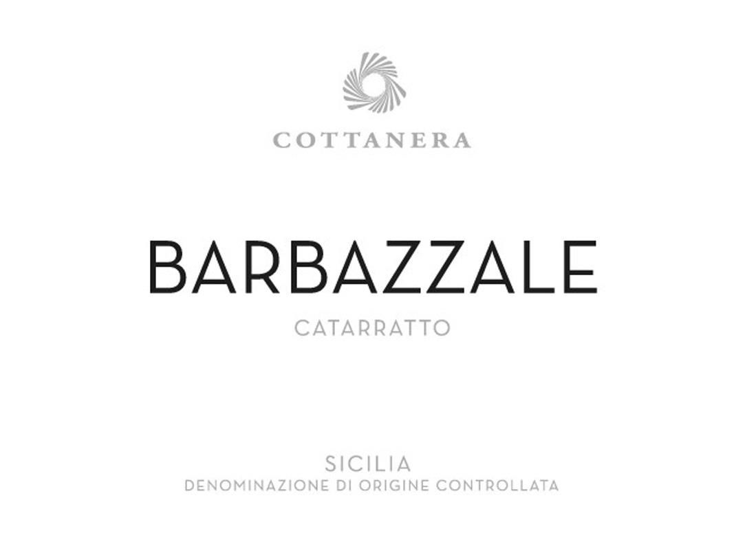 Cottanera Barbazzale Bianco 2017  Front Label