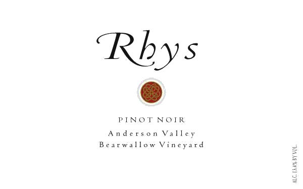 Rhys Vineyards Bearwallow Vineyard Pinot Noir 2015 Front Label
