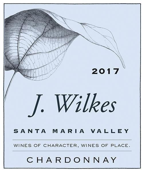 J Wilkes Chardonnay 2017  Front Label