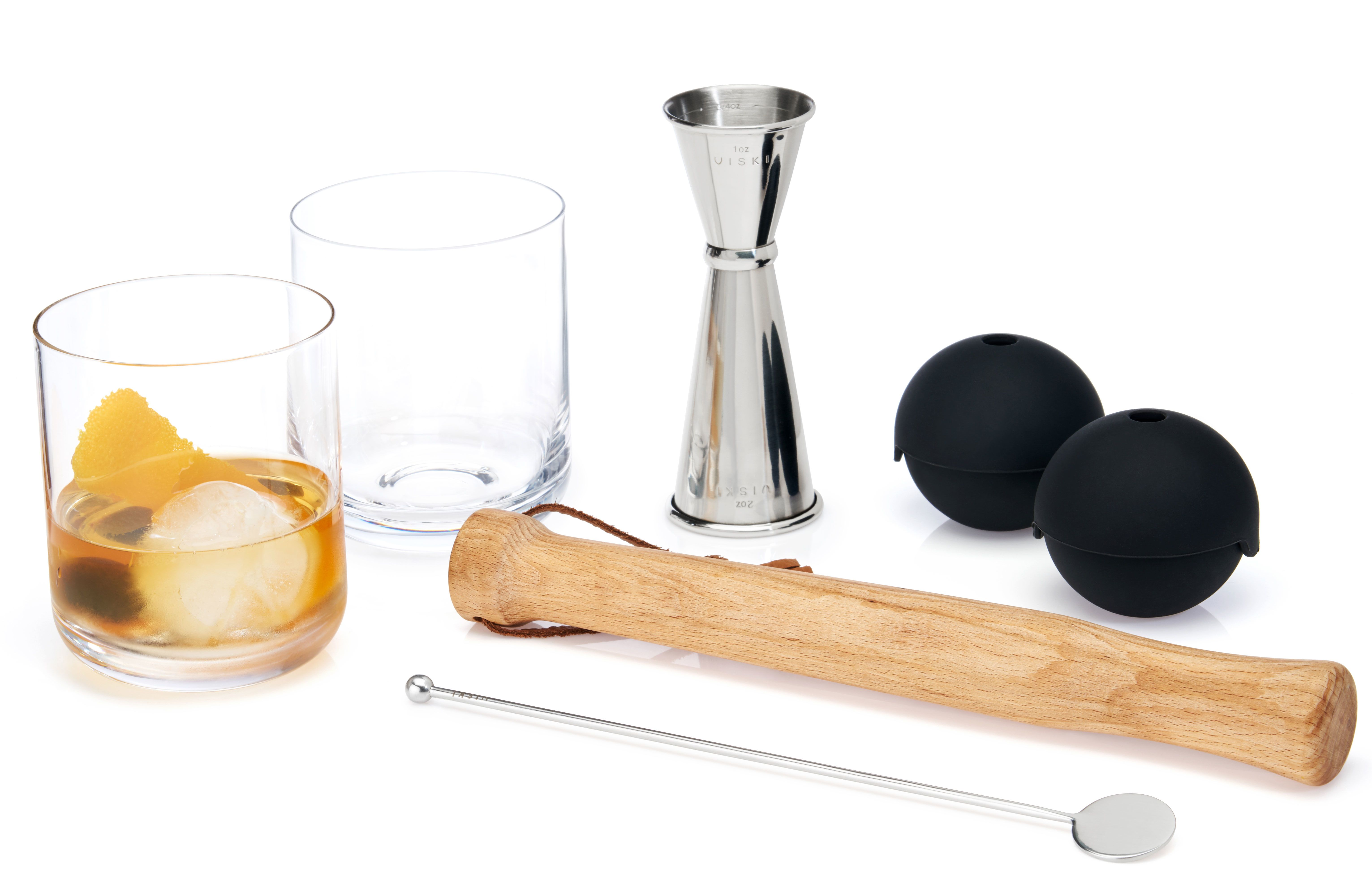 wine.com Tumblers & Muddled Cocktail Set by Viski  Gift Product Image