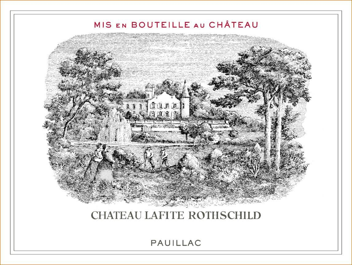 Chateau Lafite Rothschild (6-Pack OWC Futures Pre-Sale) 2019  Front Label