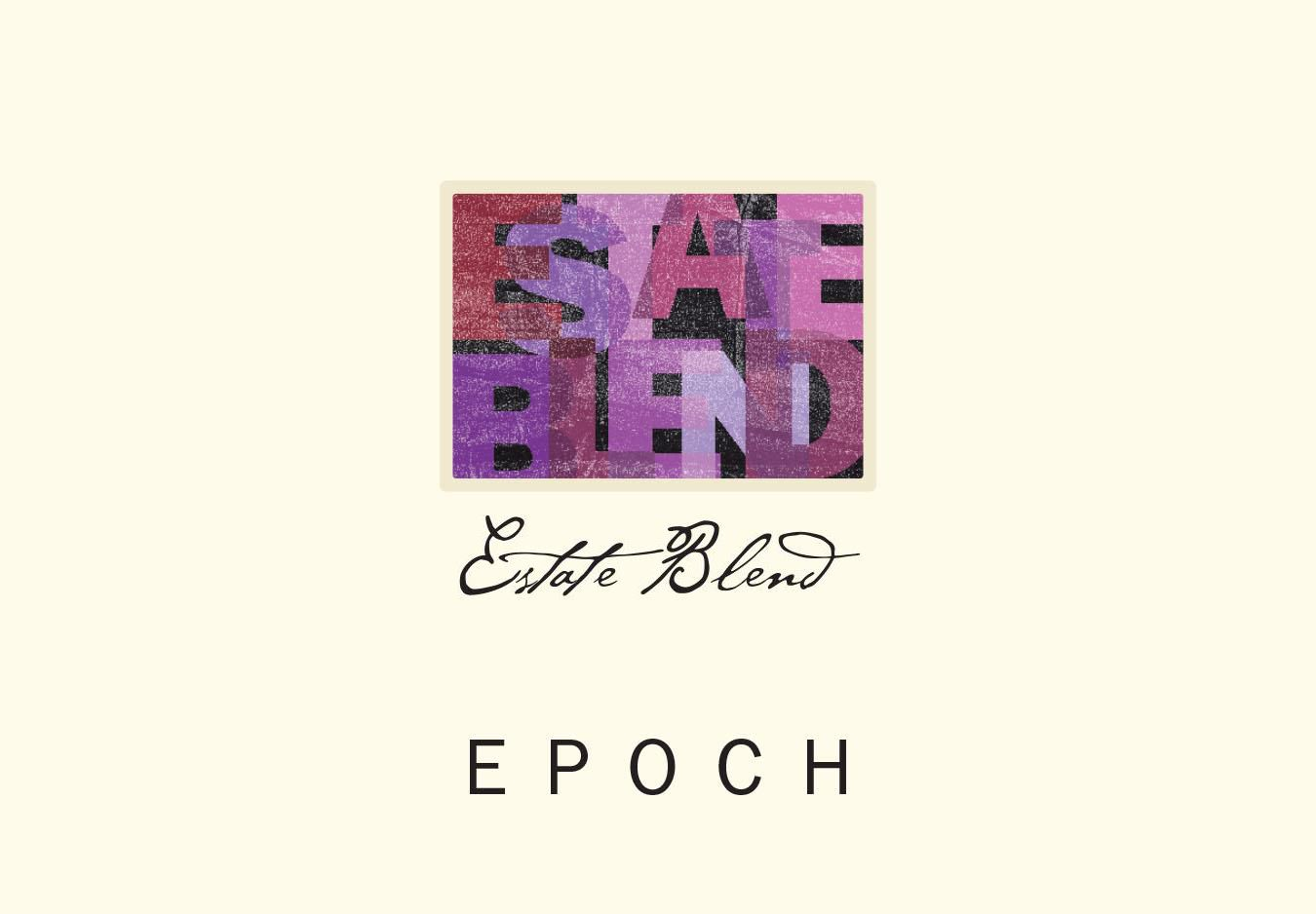 Epoch Estate Red Blend  2016  Front Label