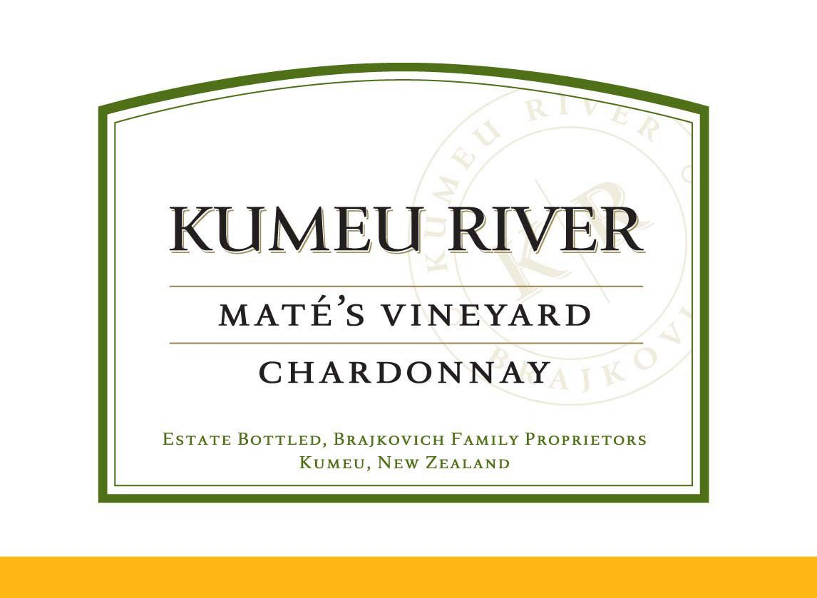 Kumeu River Mate's Vineyard Chardonnay 2018  Front Label
