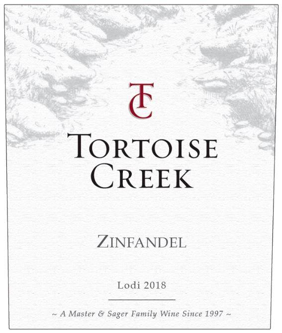 Tortoise Creek Zinfandel 2018 Front Label