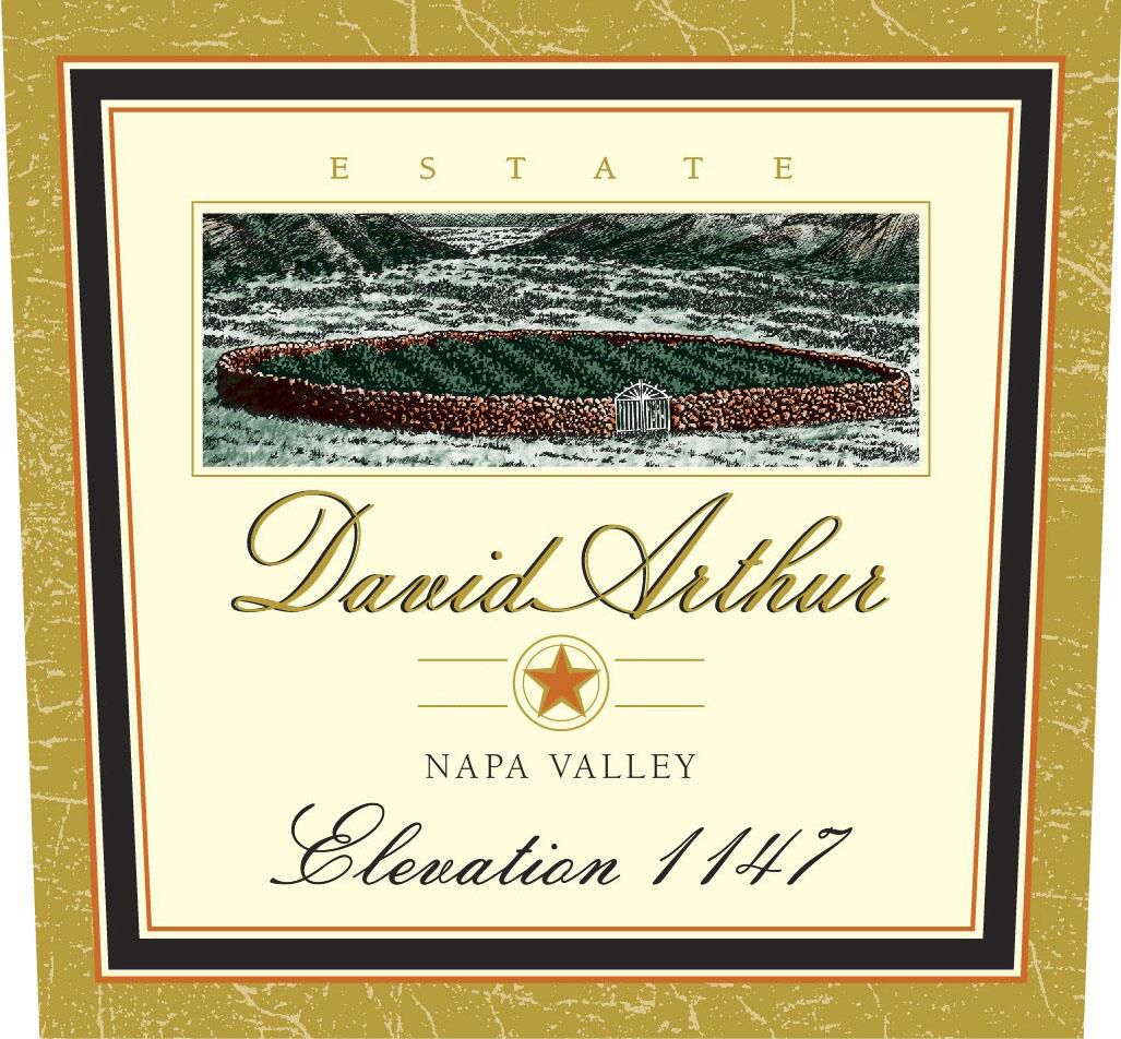 David Arthur Elevation 1147 Estate Cabernet Sauvignon 2008  Front Label