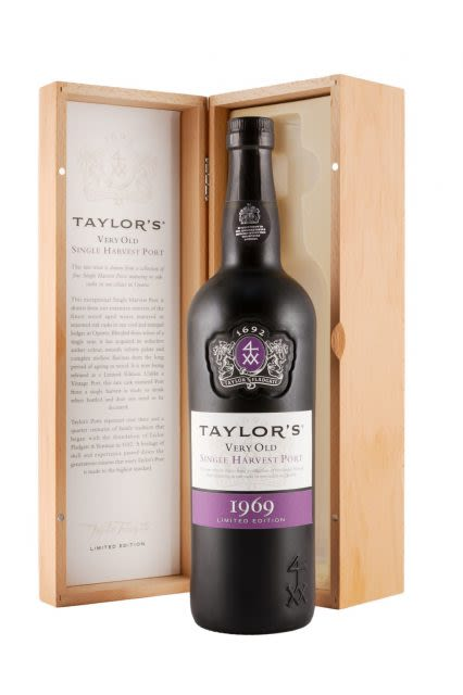 Taylor Fladgate Very Old Single Harvest Port in Gift Box 1969 Gift Product Image