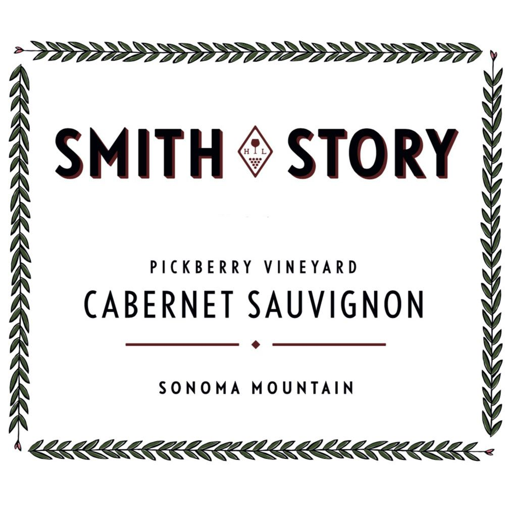 Smith Story Pickberry Vineyard Cabernet Sauvignon 2016 Front Label