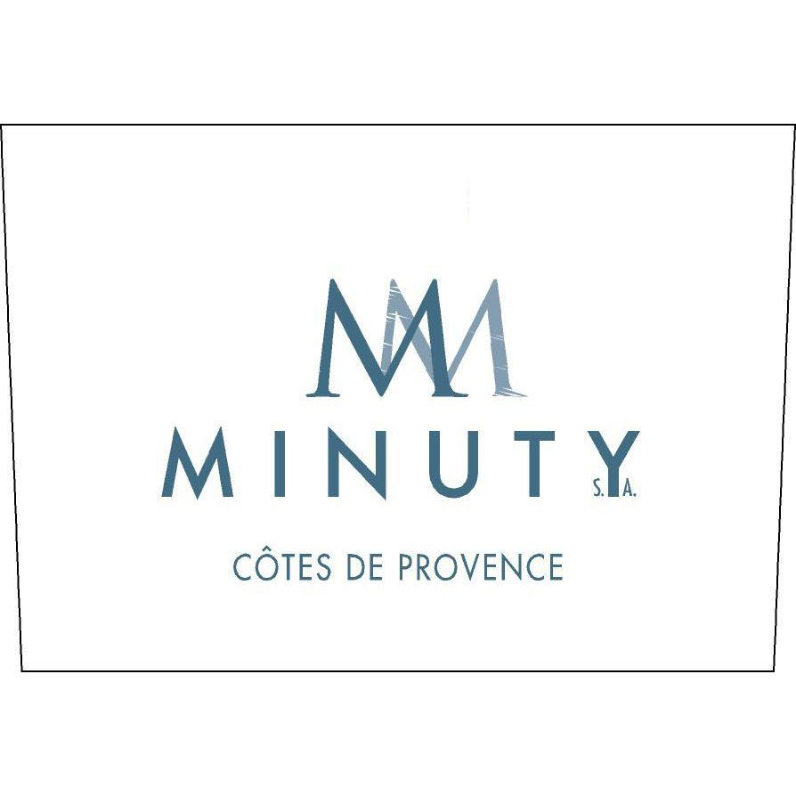 Chateau Minuty M Rose 2020  Front Label