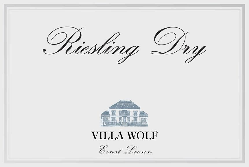 Villa Wolf Riesling Dry 2019  Front Label