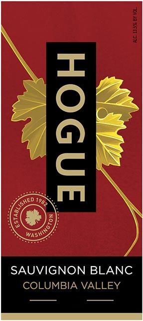 Hogue Sauvignon Blanc 2018  Front Label