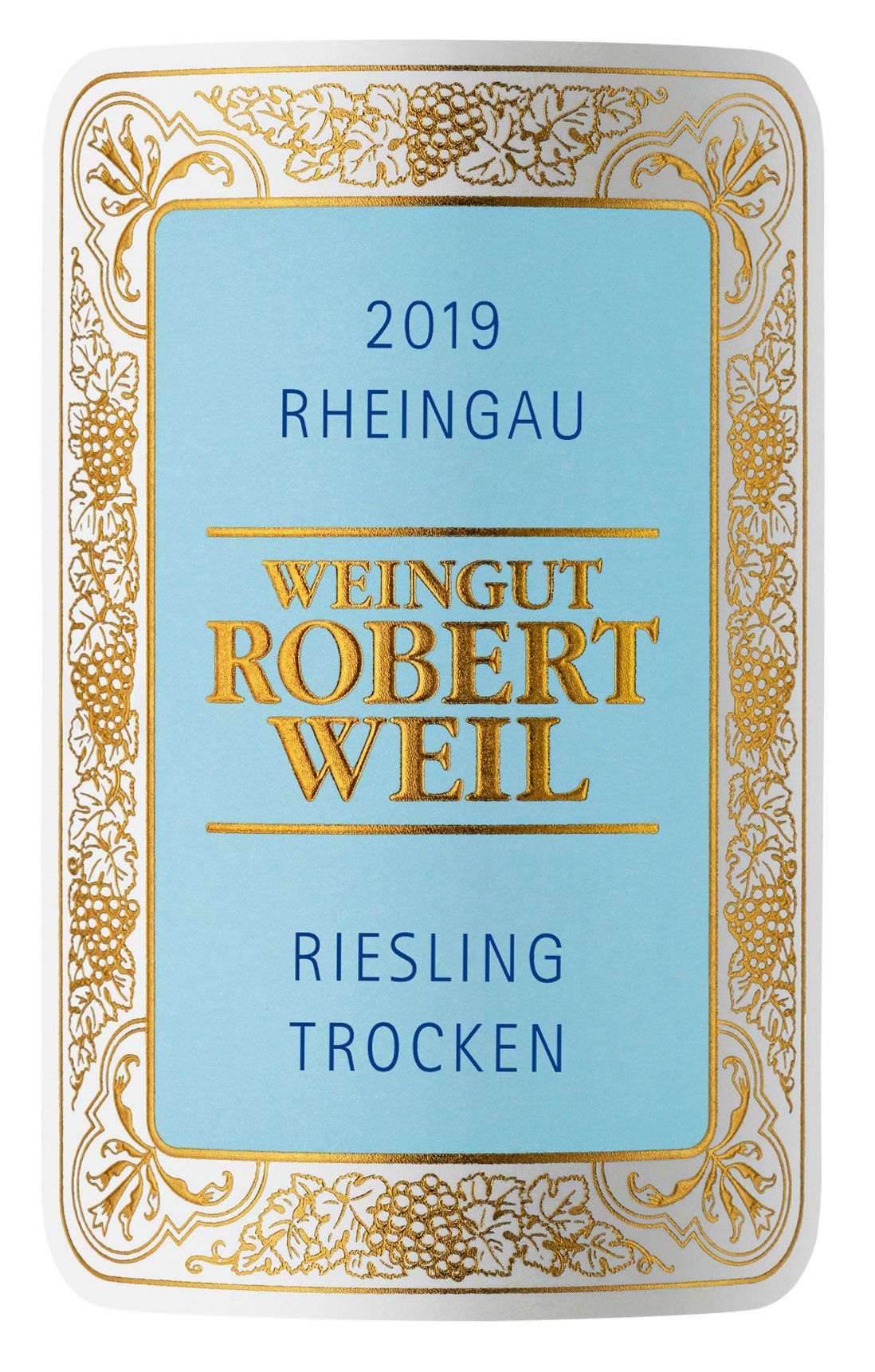 Robert Weil Estate Riesling Trocken 2019  Front Label