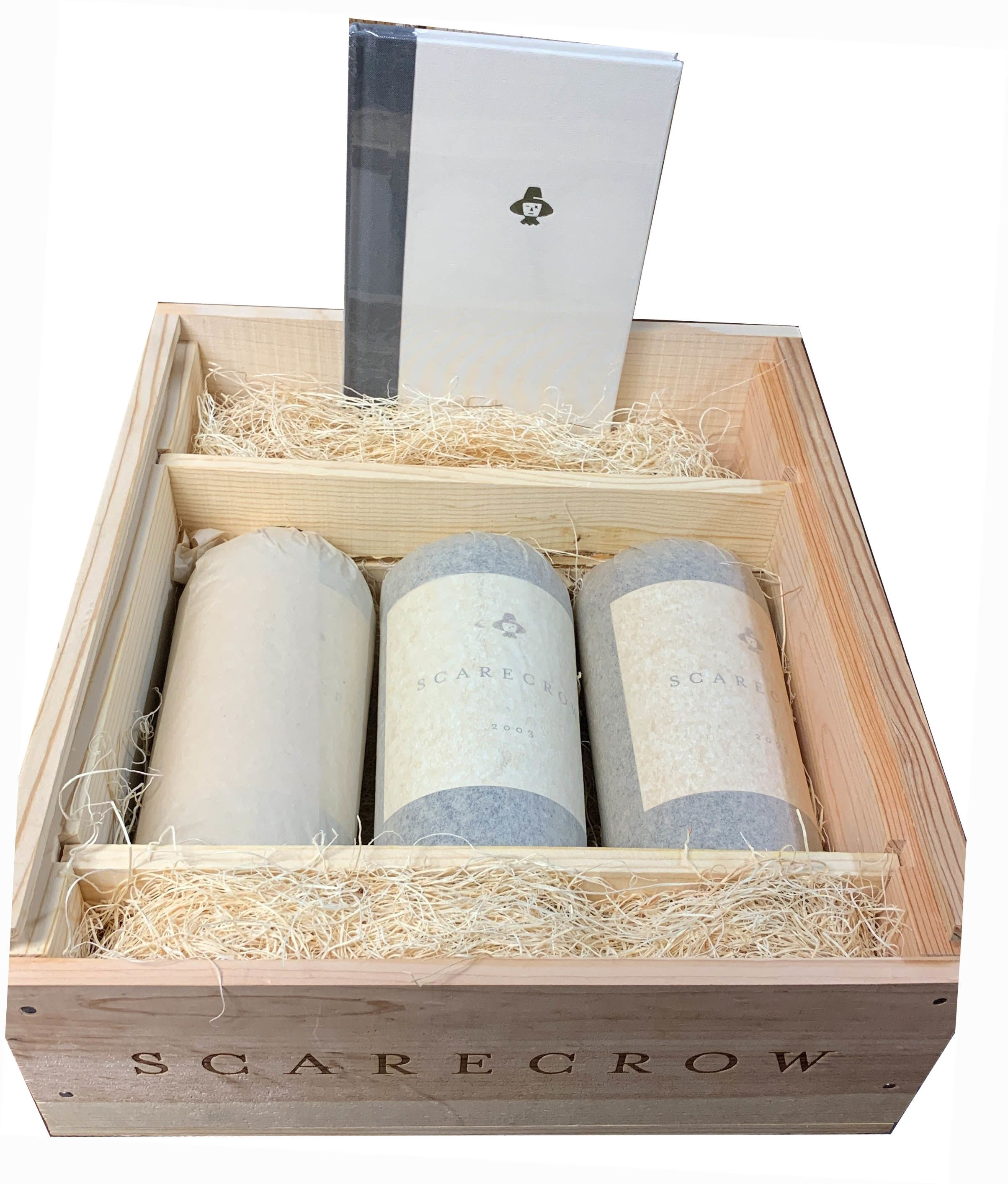 Scarecrow Cabernet Sauvignon (3 bottle OWC - Inaugural Vintage) 2003  Gift Product Image