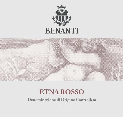 Benanti Etna Rosso 2017  Front Label
