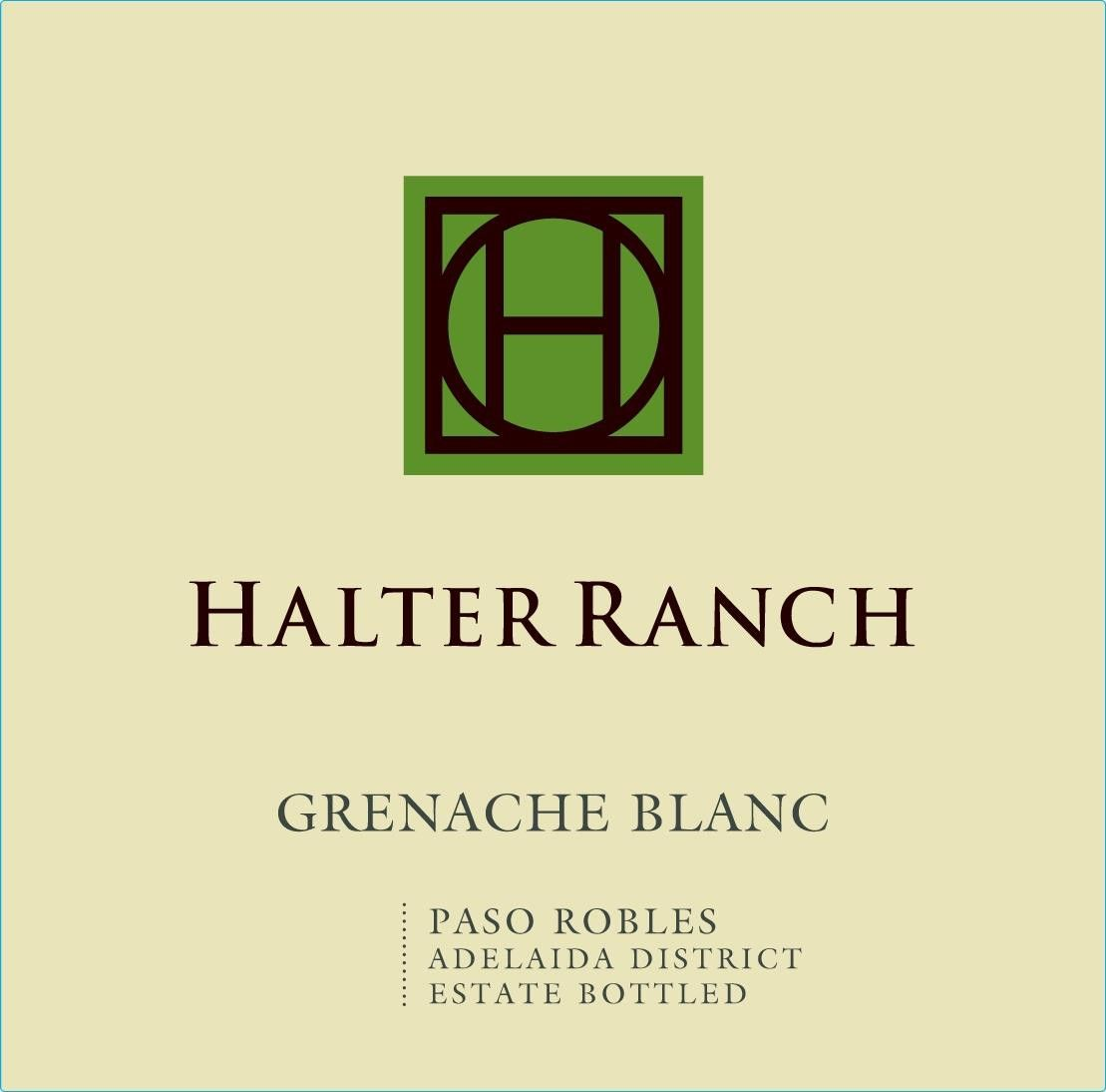 Halter Ranch Vineyard Grenache Blanc 2017 Front Label