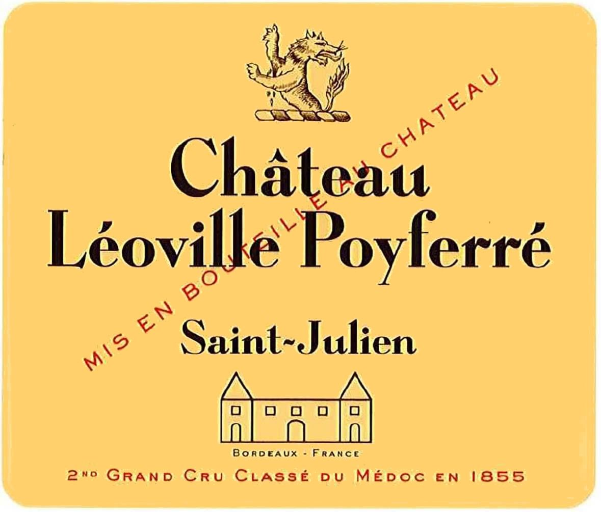 Chateau Leoville Poyferre (6-Pack OWC Futures Pre-Sale) 2019  Front Label