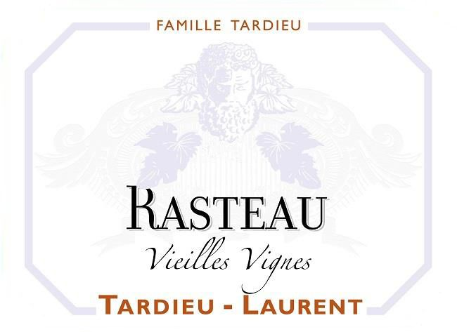 Tardieu-Laurent Rasteau Vieilles Vignes 2016  Front Label