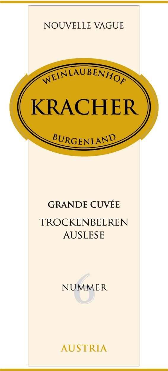 Kracher Grand Cuvee Nouvelle Vague TBA No. 6 (375ML half-bottle) 2015 Front Label