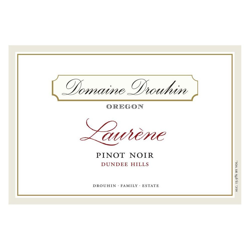 Domaine Drouhin Oregon Laurene Pinot Noir (375ML half-bottle) 2016  Front Label
